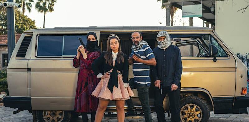 """נועה קירל בקמפיין של yes / צילום: יח""""צ אוהד רומנו"""